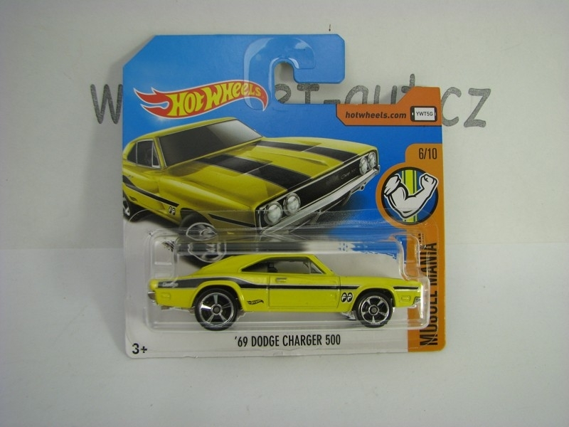 69 Dodge Charger 500 Hot Wheels Muscle Mania